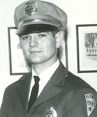 William John Cox - Graduating from San Diego Police Academy (1963)