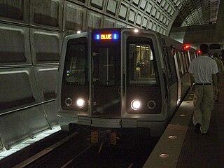 Blue Line (Washington Metro) Washington Metro rapid transit line