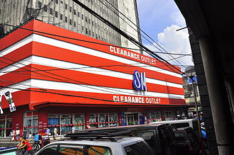 The SM Store - SM Clearance Outlet in Quiapo, Manila.