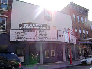 Theatre of Living Arts concert venue in Philadelphia, Pennsylvania