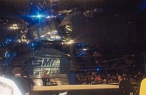 WWE SmackDown Kulisse