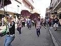 WWOZ 30th Birthday Parade Umbrellas.JPG