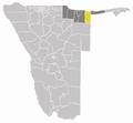 Wahlkreis Ndiyona in Kavango.png