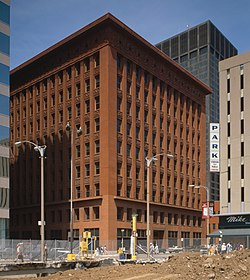 Wainwright building wikipedia for Home under construction insurance