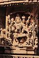 Wall relief at Mallikarjuna temple at Basaralu 2.JPG