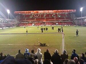Bescot Stadium - Image: Walsall F2Go