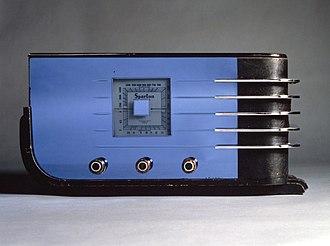 Walter Dorwin Teague - Sparton Table Radio, ca. 1936 Brooklyn Museum