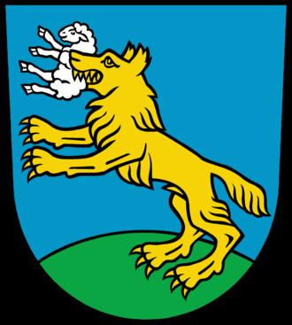 Lebus - Image: Wappen Lebus