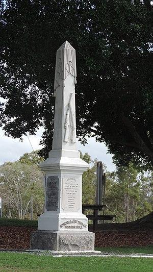 Rosedale, Queensland - Rosedale and Tottenham War Memorial, 2016