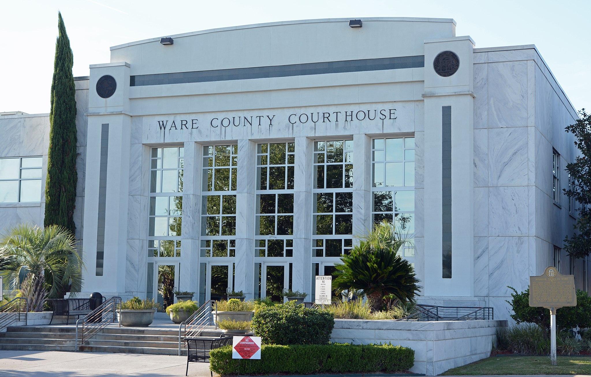 Ware County Courthouse, Waycross, GA, US