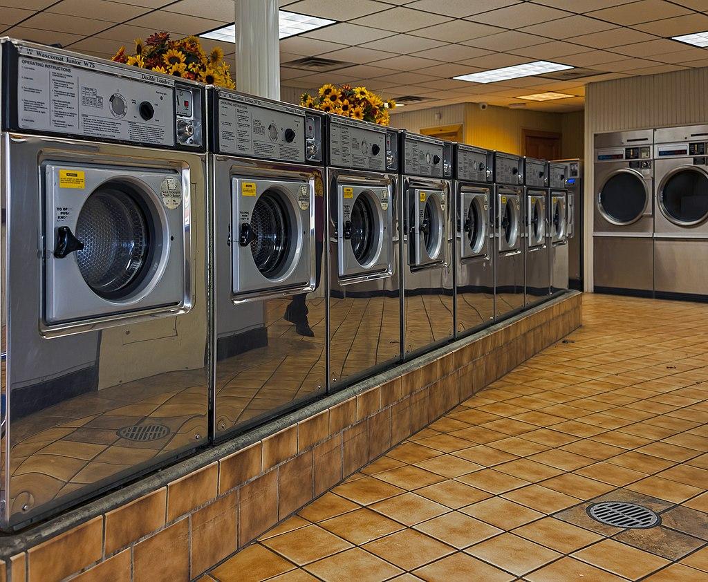 Washers in Sheeley's Laundromat, Walden, NY