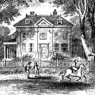 Brattle Street (Cambridge, Massachusetts) - 105 Brattle Street, once General Washington's headquarters, later the home of Longfellow