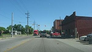 La Crosse, Indiana - Downtown buildings