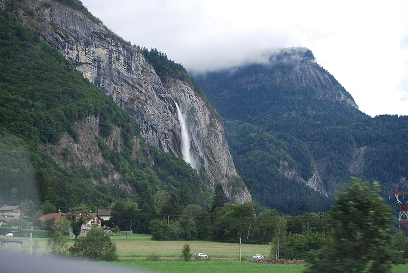 File:Waterfall from the road - panoramio.jpg