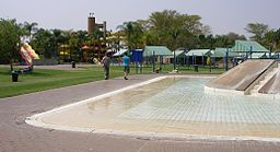 Waterslides at Warmbaths.JPG