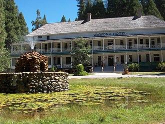 Wawona Hotel - The Wawona Hotel in Yosemite National Park, 2005