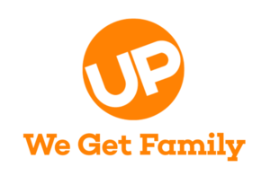 Up (TV channel) - Image: We Get Family U Plogo Orange reduced
