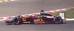 Webber al Gran Premio di Francia 2002, a bordo della Minardi