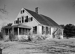 John Newcomb House - HABS photo c. 1930s