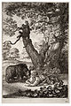 Wenceslas Hollar - The foresters and the bear (State 1).jpg