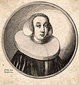 Wenceslas Hollar - Woman with a coif and pleated ruff (State 1).jpg
