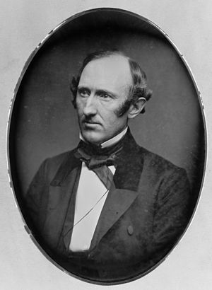 Wendell Phillips, head-and-shoulders portrait, facing left