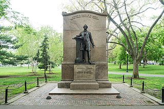 Statue of Wendell Phillips