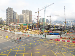 West Kowloon Terminus under construction in May 2015.jpg