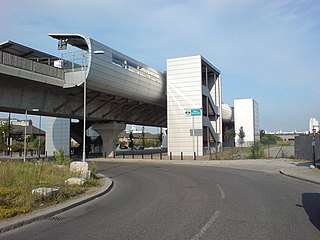 Docklands Light Railway station