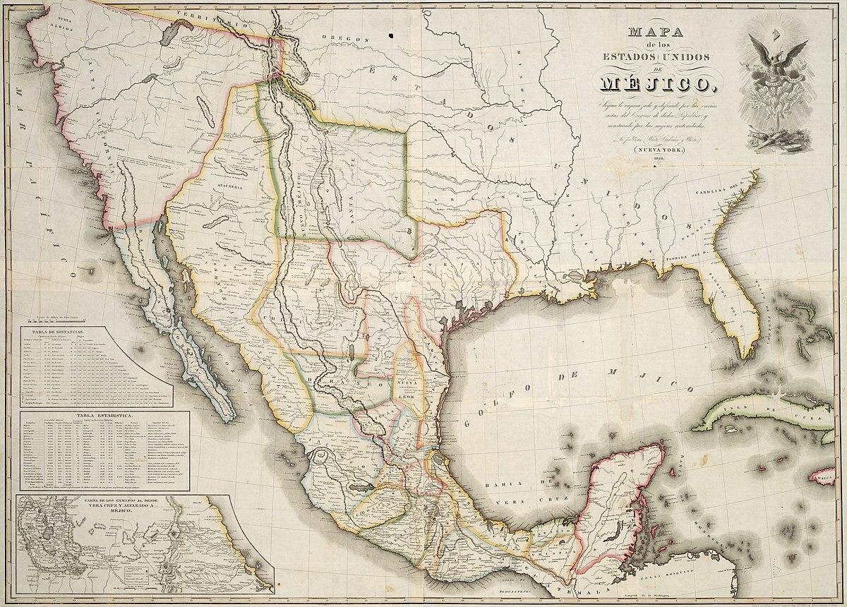 Territorial evolution of Mexico - Wikipedia