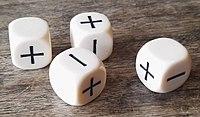 Board Games Fudge Dice