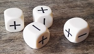 Dice notation - Fudge dice