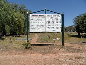History of Chinese Australians - White Hills Cemetery Chinese Section
