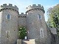 Whittington Castle gateway - geograph.org.uk - 1525675.jpg