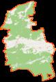 Wieleń (gmina) location map.png