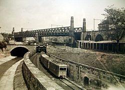 Fyra omkom vid tunnelbanebygge