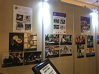 Wiki Loves Africa exhibition at Wikimania 2018 in Cape Town.jpg