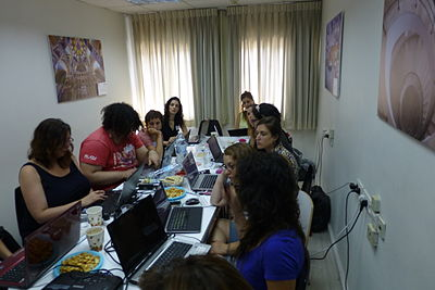 Wiki Women Editors Project - Opening Meeting (11).JPG