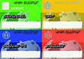Wikicamp Armenia 2014 badges design.jpg