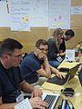 Wikimedia Hackathon Vienna 2017 attendees 17.jpg