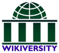 Wikiversity logo Green and Violet.png