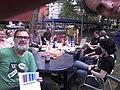 Wiknic Eindhoven 2014-07-06 at 14.39 Wikidata selfie.jpg