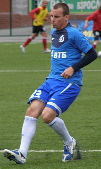 Luke Wilkshire - Wilkshire warming for the club ahead of the match in 2009.