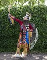 Will Yaska of Pueblo, Colorado, a Koyukon (an Alaska Native Athabaskan people), was among the participants at a Colorado Springs Native American Inter-Tribal Powwow and festival in that central LCCN2015633374.tif