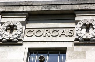 William C. Gorgas - William C. Gorgas' name as it is featured on the LSHTM Frieze