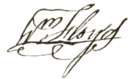 William Floyd signature.png