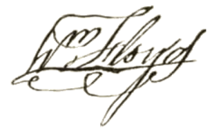 William Floyd - Image: William Floyd signature