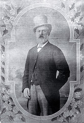 Warner's Hotel - William Francis Warner, an early proprietor of what became known as Warner's Hotel