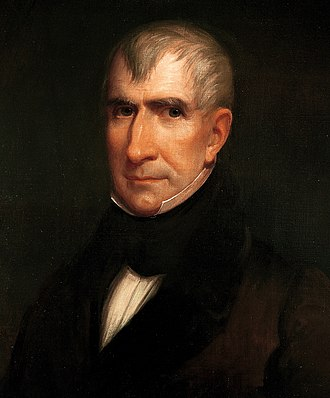 1836 United States presidential election in Maryland - Image: William Henry Harrison by James Reid Lambdin, 1835 crop