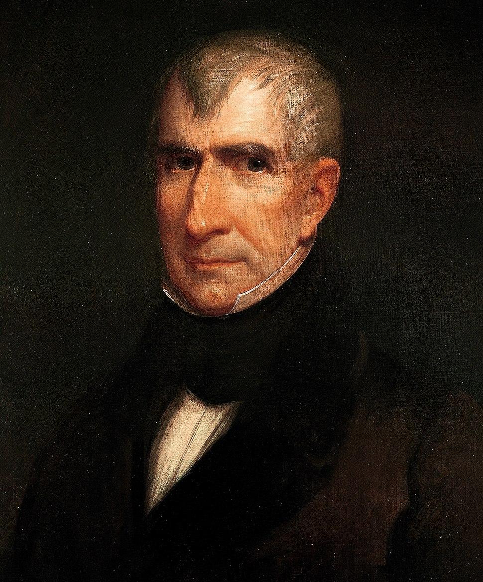 William Henry Harrison by James Reid Lambdin, 1835 crop